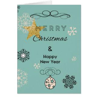 Merry Christmas Greeting Card, Standard Card
