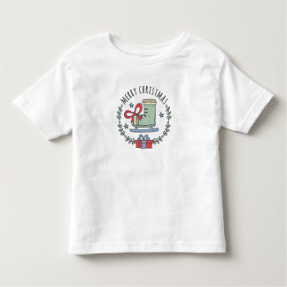 Merry Christmas Greeting Garland Toddler's T-Shirt