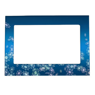 Merry Christmas. Greeting. Magnetic Frame