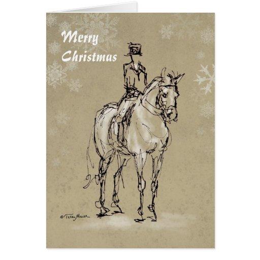 Merry Christmas Halt at X card