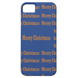 Merry Christmas  Happy Holidays Text Template GIFT Cover For iPhone 5/5S