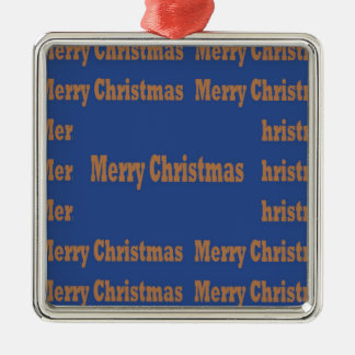 Merry Christmas  Happy Holidays Text Template GIFT Ornament