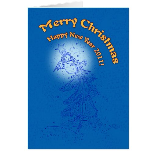 Merry Christmas & Happy New Year 2011! - Card
