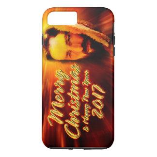 Merry Christmas Happy New Year 2017 Jesus iPhone 7 Plus Case