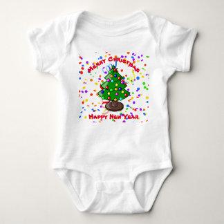 Merry Christmas & Happy New Year Baby Bodysuit
