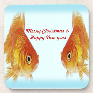 Merry Christmas & Happy New year Coaster