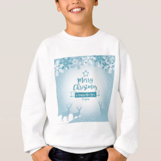 Merry Christmas & Happy New Year Elegant Unique Sweatshirt
