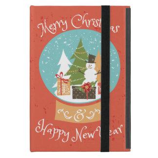 Merry Christmas Happy New Year iPad Mini Case