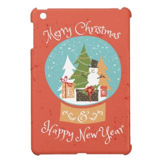 Merry Christmas Happy New Year iPad Mini Covers
