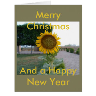 Merry Christmas & Happy New Year people Card