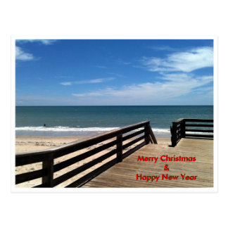 Merry Christmas & Happy New Year The MUSEUM Zazzle Postcard