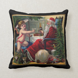 Merry Christmas & Happy New Year Throw Pillow