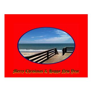 Merry Christmas & Happy New Year Vero Beach FL Post Cards