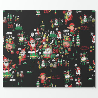 Merry Christmas HO-HO-HO wrapping paper!