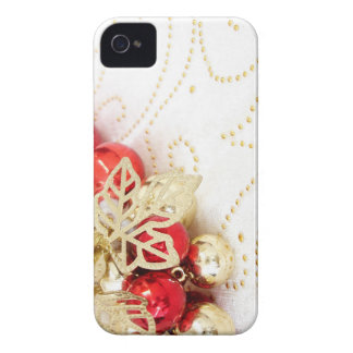 Merry Christmas  Holiday celebrations Santa Clause iPhone 4 Cover