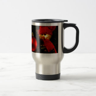 Merry Christmas  Holiday celebrations Santa Clause Stainless Steel Travel Mug