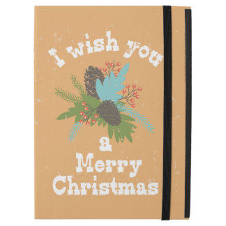 "Merry Christmas Holiday Decor iPad Pro 12.9"" Case"