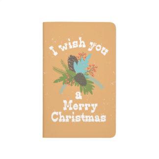 Merry Christmas Holiday Decor Journal