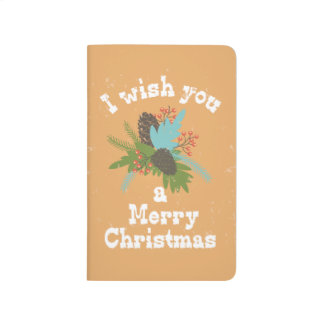 Merry Christmas Holiday Decor Journals