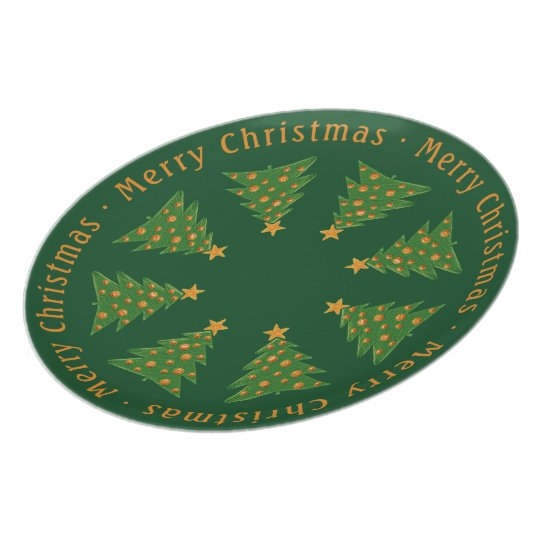 Merry Christmas | Holiday Gifts Plate