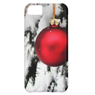 Merry Christmas  Holiday Tree Ornaments celebratio iPhone 5C Cases