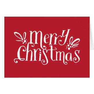 Merry Christmas Hugs | Holiday Corporate Card