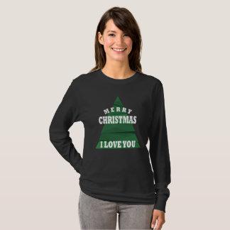Merry Christmas I Love You T-Shirt