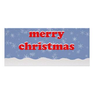 Merry Christmas illustration Custom Rack Cards