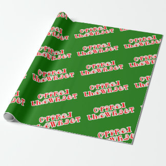 Merry Christmas in Cherokee Wrapping Paper