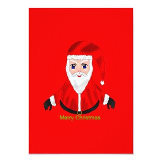 Merry Christmas 13 Cm X 18 Cm Invitation Card