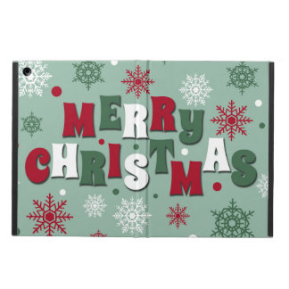 Merry Christmas iPad Air Case