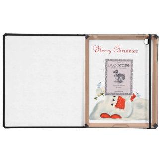 Merry Christmas iPad Folio Case