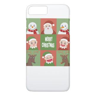 merry christmas iPhone 7 plus case