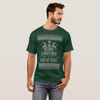 Merry Christmas Iraq Veteran T-Shirt