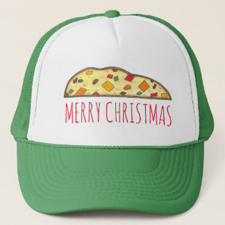 Merry Christmas Italian Holiday Biscotti Food Hat