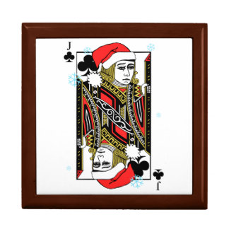 Merry Christmas Jack of Clubs Gift Box