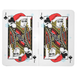 Merry Christmas Jack of Clubs Journal