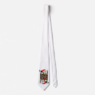 Merry Christmas Jack of Clubs Tie