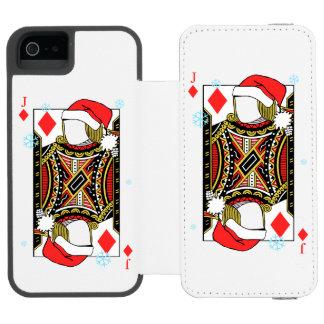 Merry Christmas Jack of Diamonds - Add Your Images Incipio Watson™ iPhone 5 Wallet Case