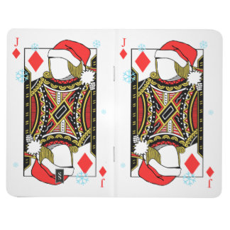Merry Christmas Jack of Diamonds - Add Your Images Journal