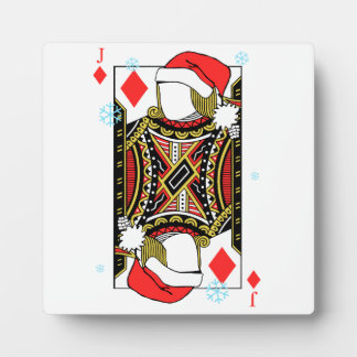 Merry Christmas Jack of Diamonds - Add Your Images Plaques