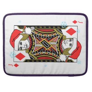 Merry Christmas Jack of Diamonds Sleeve For MacBooks