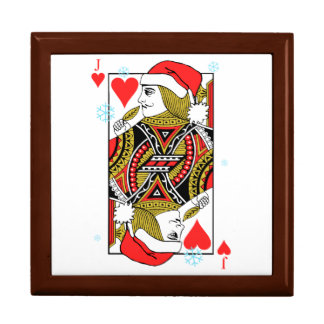 Merry Christmas Jack of Hearts Gift Box