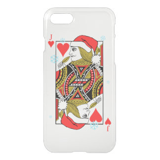 Merry Christmas Jack of Hearts iPhone 7 Case