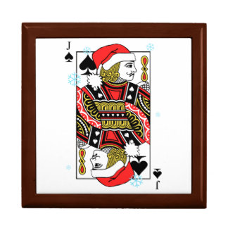 Merry Christmas Jack of Spades Gift Box