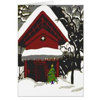 Merry Christmas Japanese Print Card