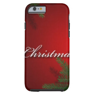 Merry Christmas Jewels Tough iPhone 6 Case