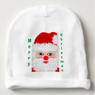 Merry Christmas Jolly Santa Claus Baby Hat Baby Beanie