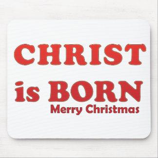 merry christmas joyeux noel mouse pad
