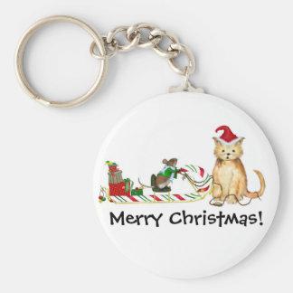 Merry Christmas!  Keychain